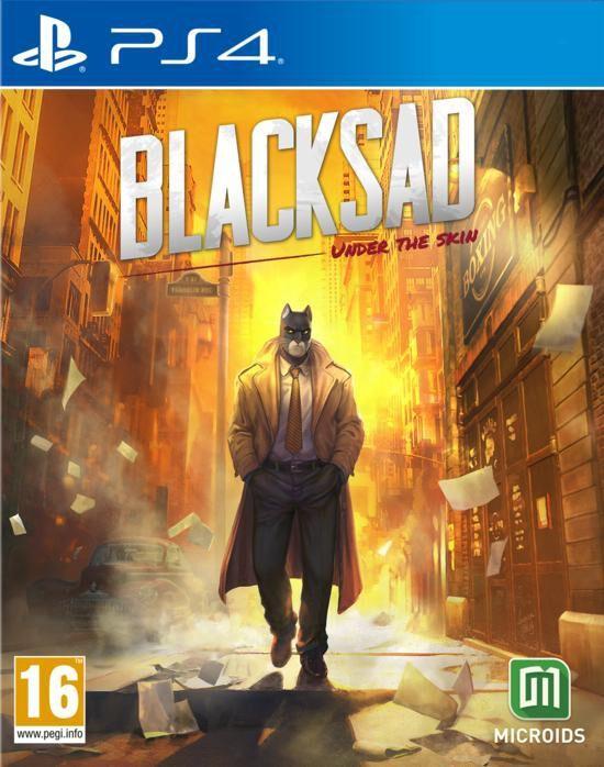 Jeu Blacksad Under The Skin : Edition Limitée sur PS4