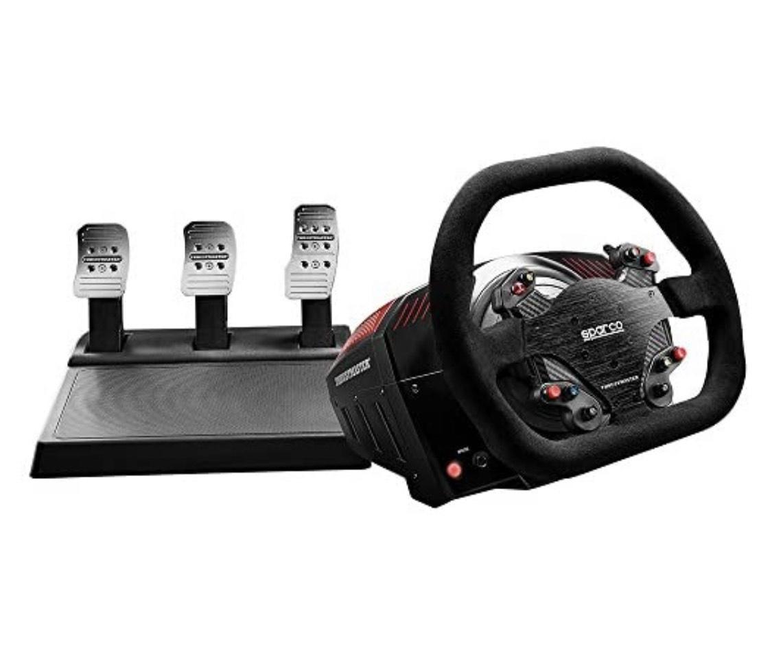 [Prime] Volant + Pédalier Thrustmaster TS-XW Racer Sparco P310 Competition Mod
