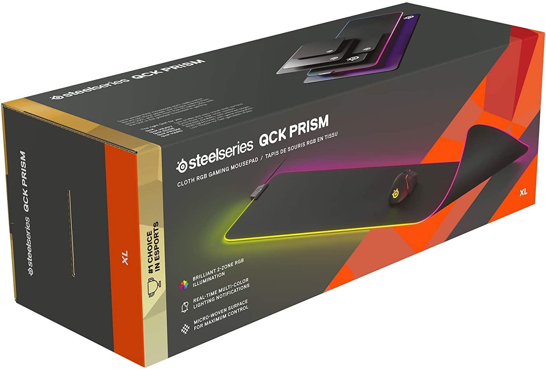 [Prime] Tapis de souris SteelSeries QcK Prism XL