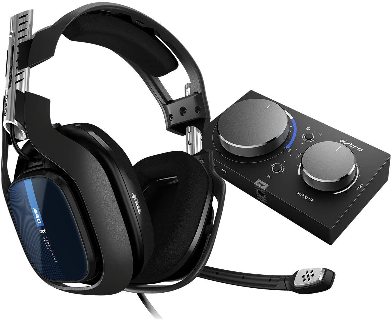 Casque filaire gaming Astro Gaming A40 TR - Circum-aural + MixAmp Pro TR