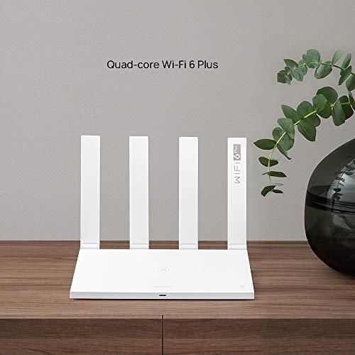 [Prime] Routeur Huawei AX3AX3 WS7200-20- 3000Mbps, WiFi 6 Plus Quad Core, Technologie OFDMA Multi-user