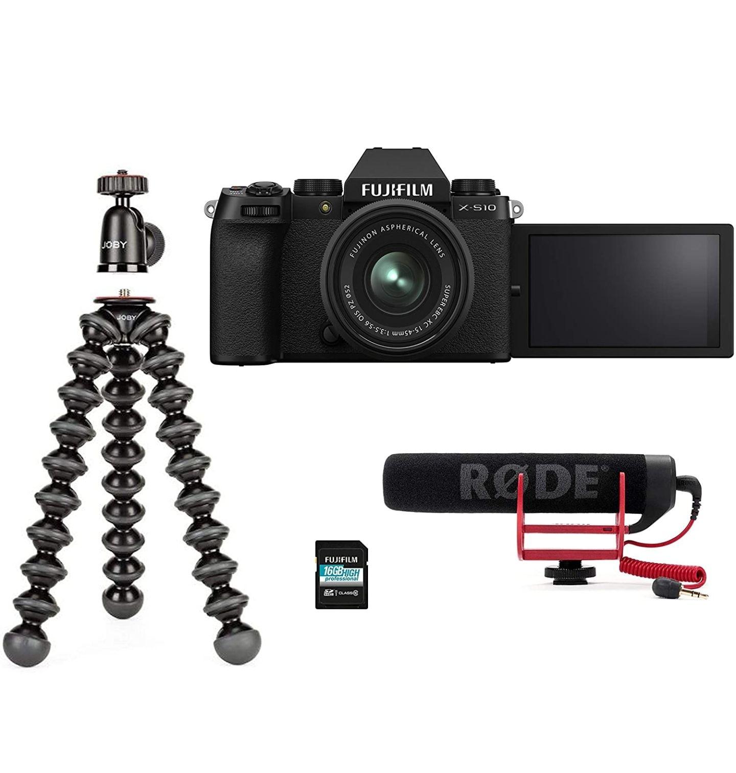 [Prime] Appareil photo Fujifilm XS-10 + XC15-4515-45 mm F3.5-5.6 OIS PZ