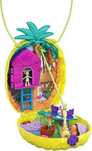 [Prime] Jouet coffret Polly Pocket Sac à Surprises Ananas