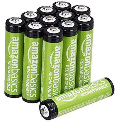 [Prime] Lot de 24 piles rechargeables Amazon Basics AAA - 800 mAh