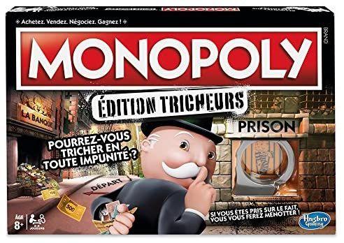 [Prime] Sélection de Jeux de Société Monopoly en promotion - Ex: Edition tricheurs