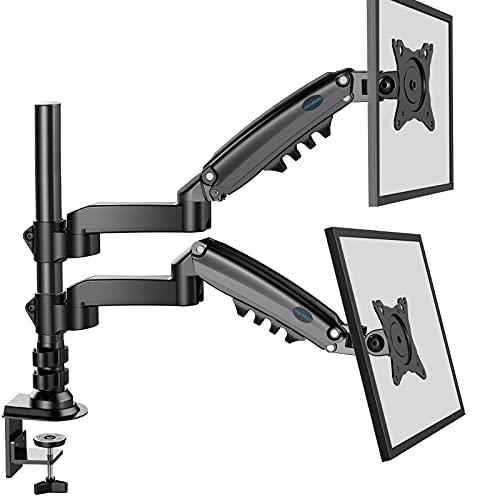 """[Prime] Support bras articulé à gaz pour écran PC de 17 à 32"""" Huanuo (Vendeur Tiers)"""