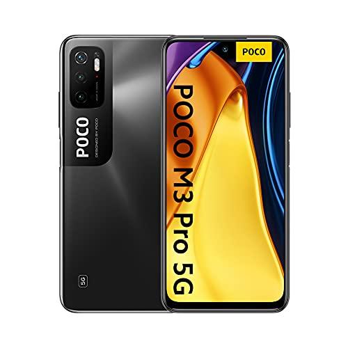 """[Prime] Smartphone 6.5"""" Xiaomi Poco M3 Pro 5G - 4 Go RAM, 64 Go ROM, Bleu ou noir (vendeur tiers)"""