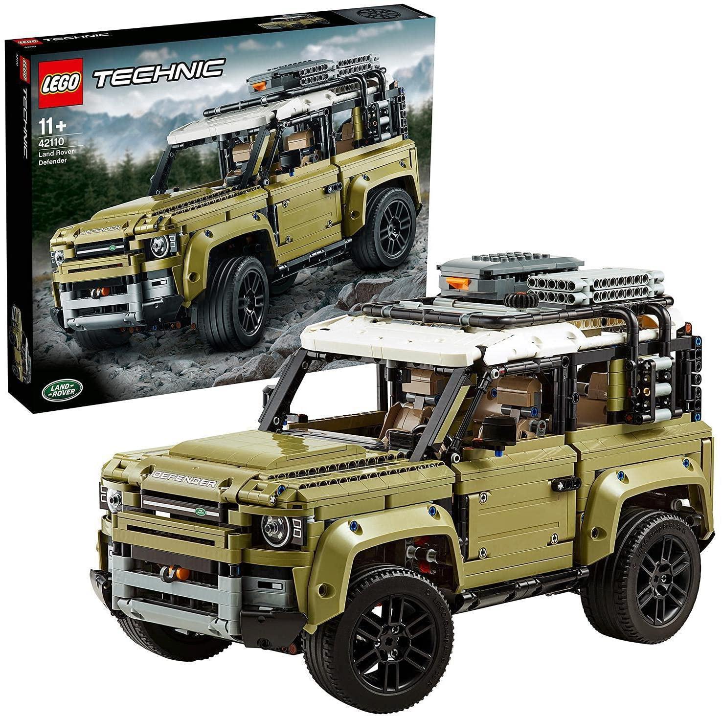 [Prime] Sélection de sets LEGO en promotion - Ex : LEGO Technic 42110 Land Rover Defender