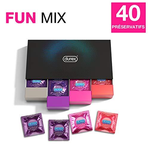 [Prime] Assortiment de préservatifs Durex Fun Explosion Plaisirs Variés - 40 Préservatifs