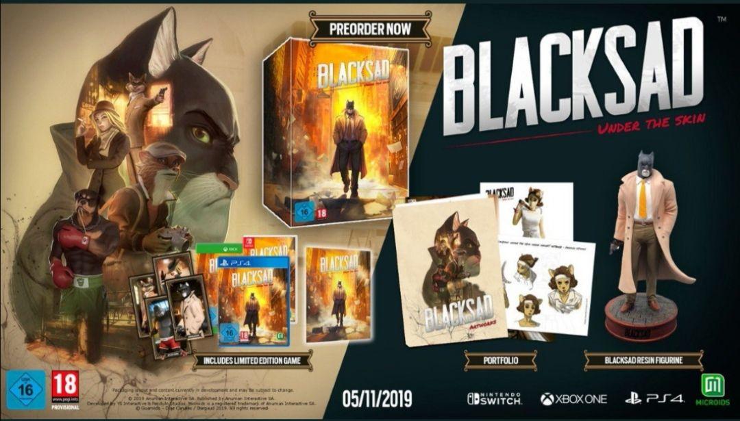 Blacksad Under The Skin Collector sur PS4