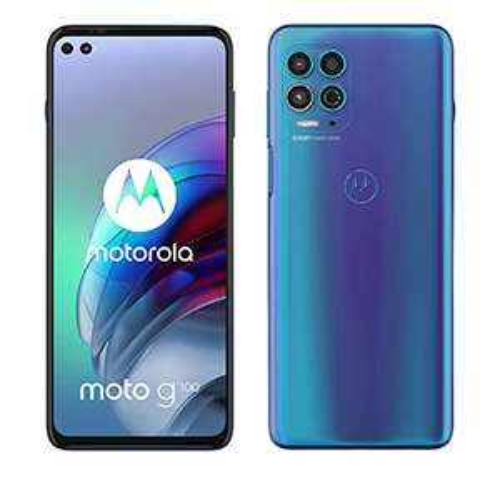 "[Prime DE] Smartphone 6.7"" Motorola Moto G100 5G (full HD+, SnapDragon 870, 8 Go de RAM, 128 Go, bleu) + station de chargement"