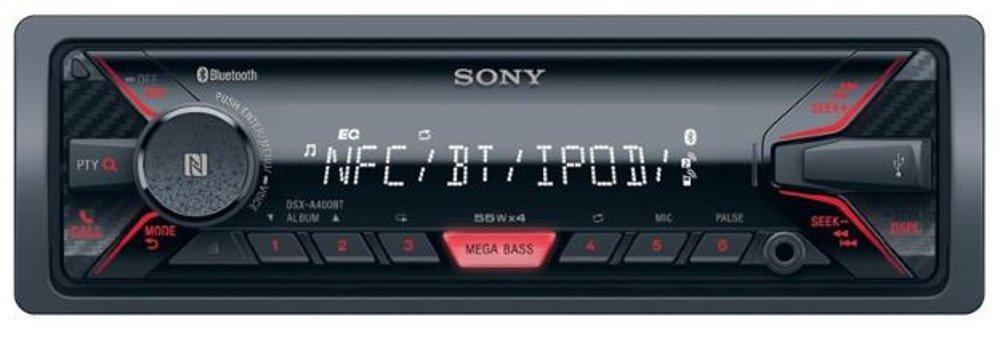 Autoradio Sony DSX-A400BT - Bluetooth, NFC, USB, Noir