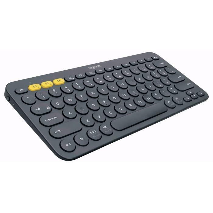 [Prime] Clavier sans-fil Logitech K380 - Bluetooth, gris