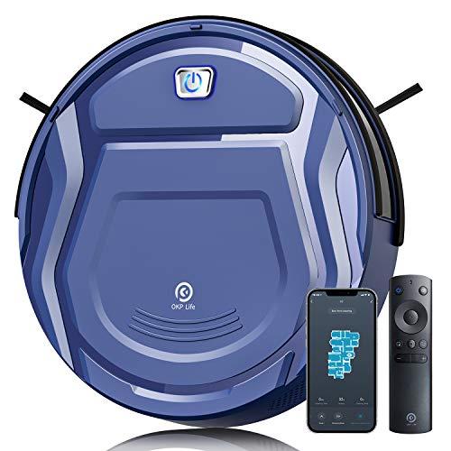 Aspirateur Robot OKP Life - 2100Pa, Bleu (vendeur tiers)