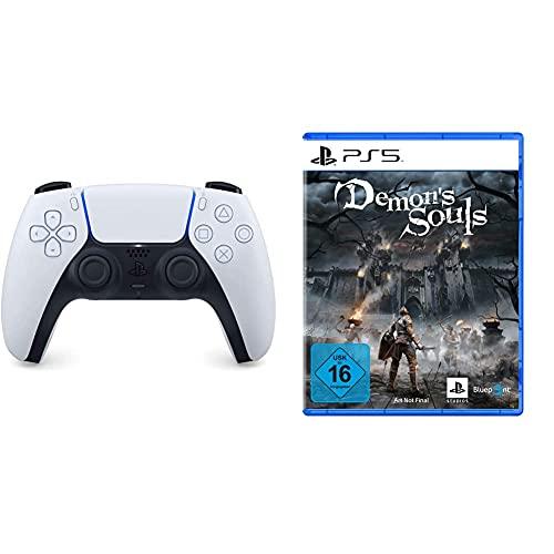 Manette Sans-Fil Sony DualSense PS5 + Demon Souls sur PS5