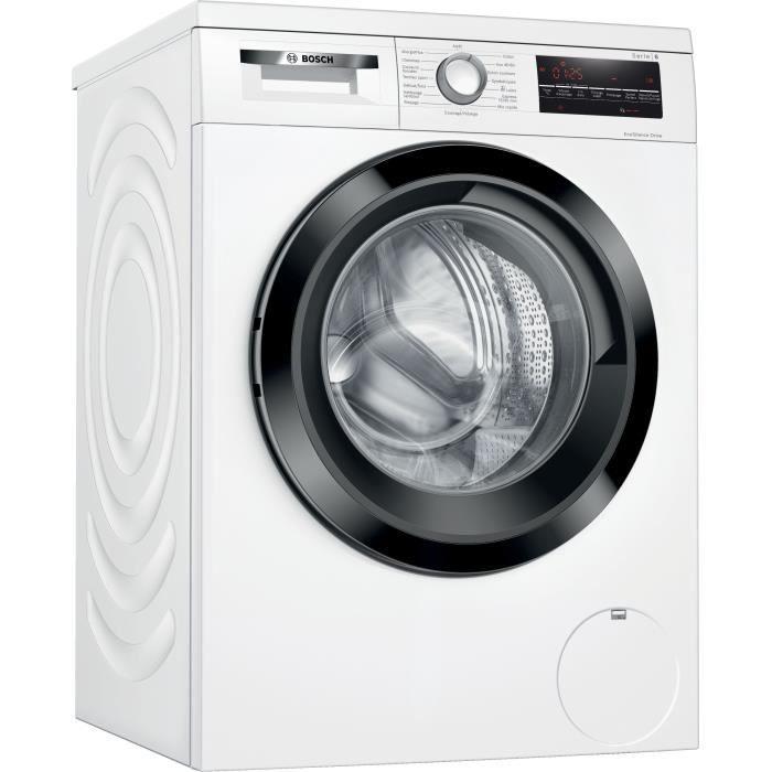 Lave-linge Bosch Série 6 WUU24T09FF - 9 kg, 1200 trs/min (Via ODR de 70€)