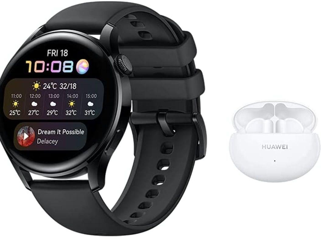 [Prime] Montre connectée Huawei Watch 3 + Ecouteurs sans fil Huawei Freebuds 4i
