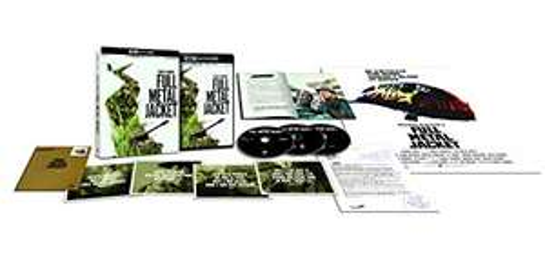 Coffret Blu-Ray 4K Ultra HD + Blu-Ray + DVD + Livret - Full Metal Jacket : Édition collector