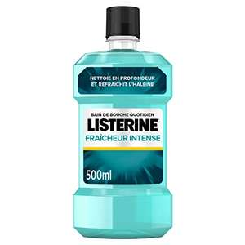 Bain de bouche Listerine Fraicheur Intense - 500ml
