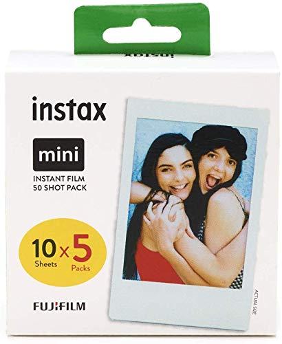 [Prime] Pack de 50 Shots Fujifilm Instax Mini Film - 50 poses