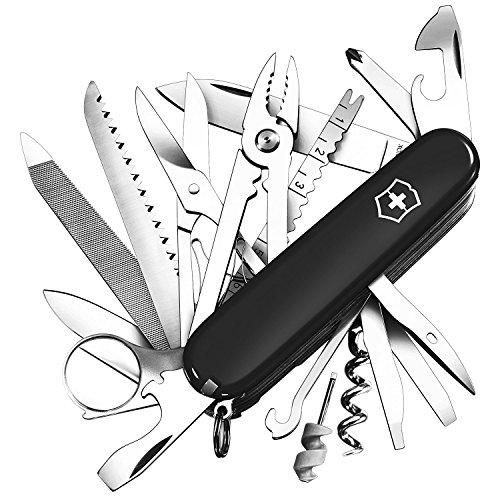[Prime] Couteau de poche suisse Victorinox Swiss Champ- 33 fonctions, noir