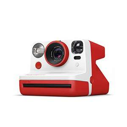 [Prime] Appareil photo instantané Polaroid Now i-Type avec autofocus (9032) - Rouge
