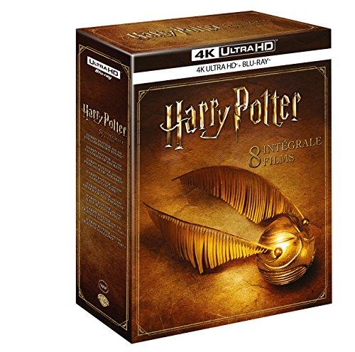 [Prime]Coffret Blu-Ray 4K Harry Potter - L'intégrale des 8 Films (4K Ultra HD + Blu-Ray)