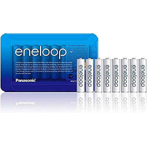 [Prime] Pack de 8 piles rechargeables Panasonic Eneloop Ni-MH AAA Micro