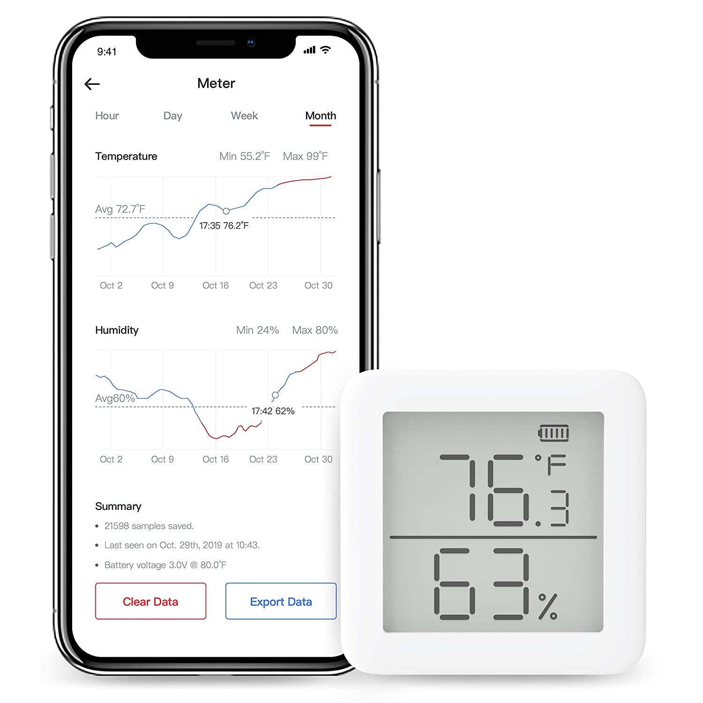 [Prime] Sélection de produits SwitchBot en promotion - Ex : Thermomètre Hygromètre sans fil SwitchBot MeterTH S1 (Vendeur tiers)