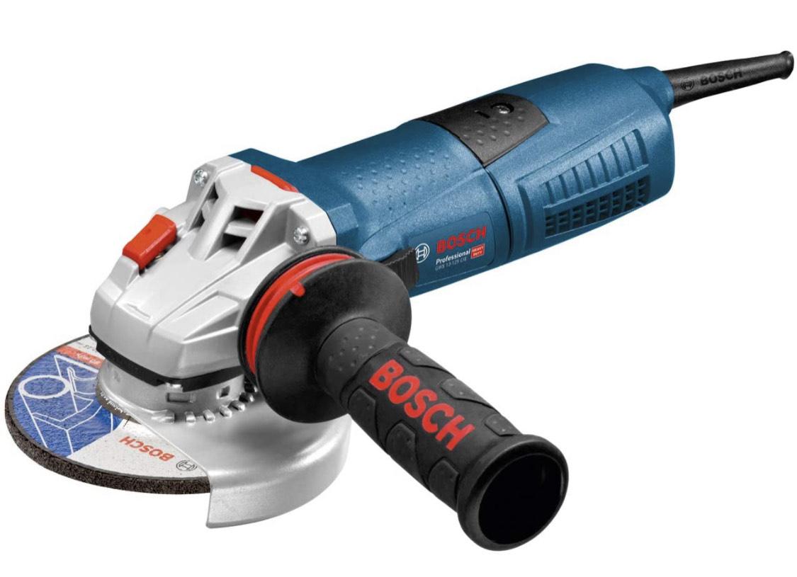 [Prime] Meuleuse Angulaire filaire Bosch Professional GWS 13-125 (1300 W, Régime à Vide : 11500 tr/min, boite carton)