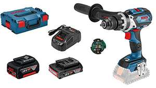 [Prime] Coffret perceuse-visseuse à percussion Bosch GSB 18V-85 C Professional (18 V) - avec 2 batteries 3.0 & 5.0 Ah + chargeur