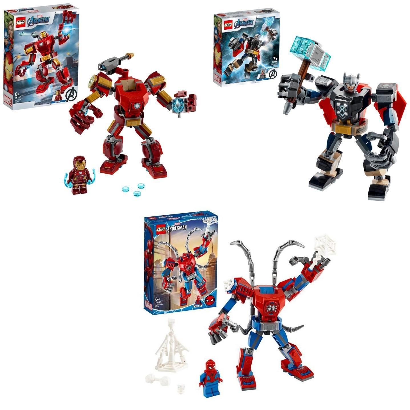 2 jouets Lego achetés (Technic, City, Marvel,...) parmi une sélection = le 3e offert (le moins cher) - Ex : Pack de 3 Lego Avengers