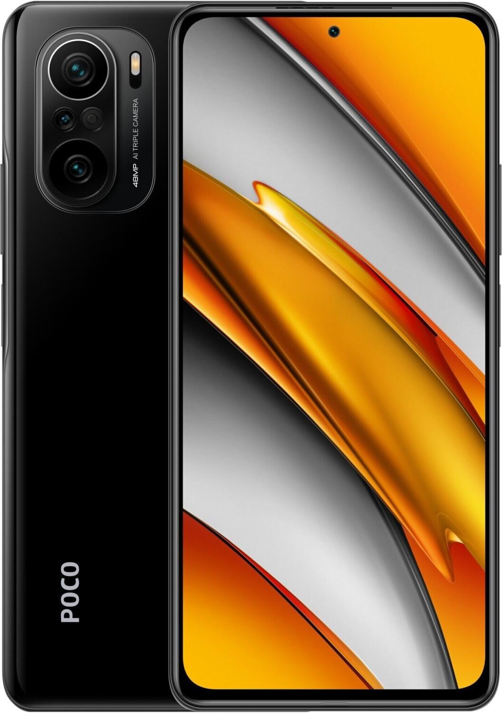 """Smartphone 6.67"""" Xiaomi Poco F3 5G - full HD+ 120 Hz, SnapDragon 870, 6 Go de RAM, 128 Go, noir (vendeur tiers)"""