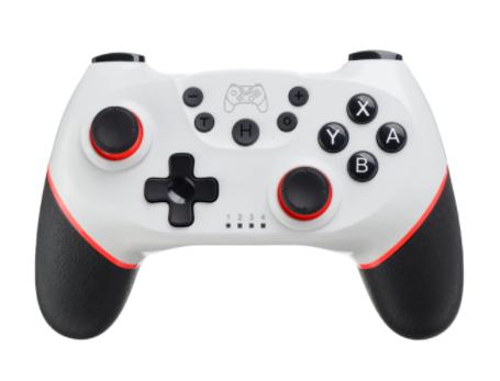 Manette sans fil Pro Gamepad pour Nintendo Switch - Bluetooth (Blanche)