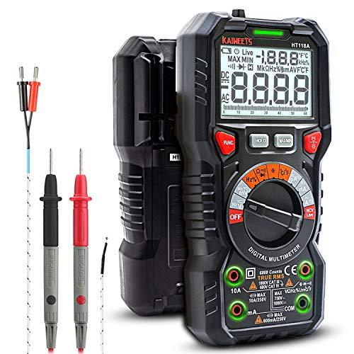 [Prime] Multimètre Capacimètre Automatique Kaiweets HT118A (Vendeur tiers)