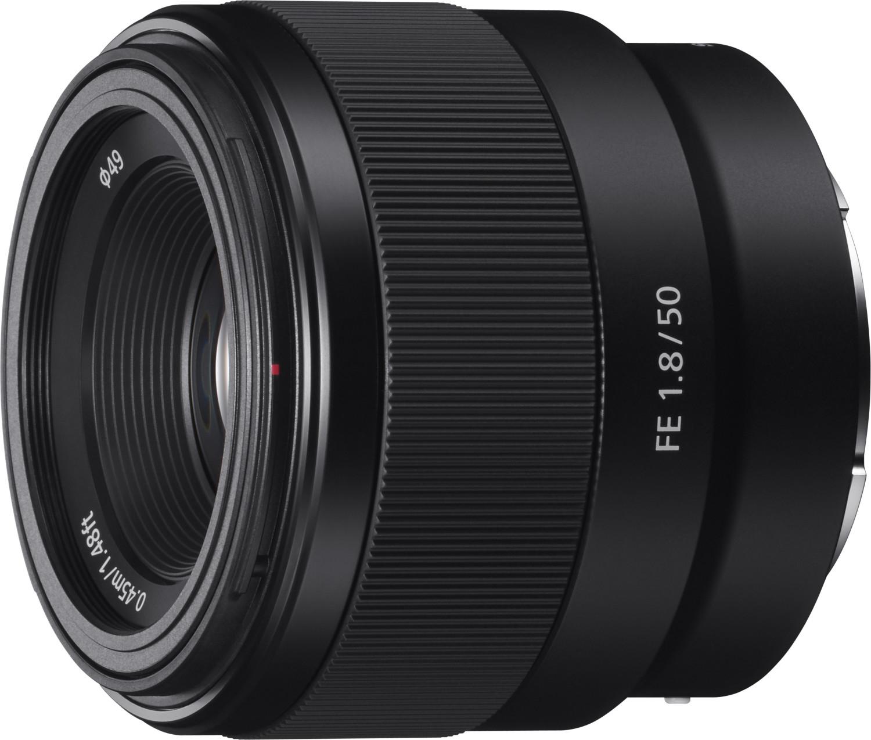 Objectif photo Sony FE 50mm f1.8 - monture Sony E