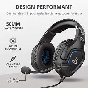 [Prime] Casque gaming filaire Trust Forze PS4/PS5 Licence Officiel