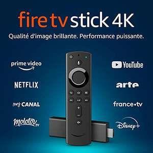 Passerelle multimédia Amazon Fire TV Stick 4K (Frontaliers Allemagne)