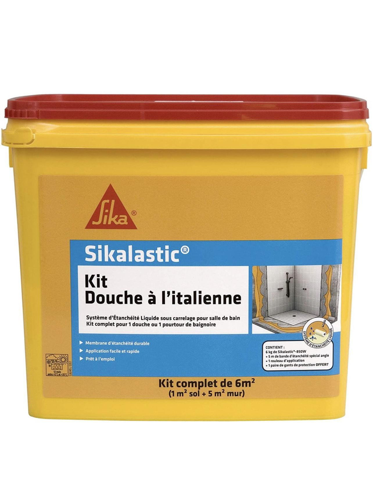 [Prime] Kit douche à l'italienne Sika - 6m²