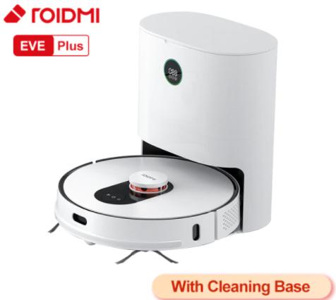 Aspirateur robot laveur Roidmi Eve Plus (290,36€ via Code FRJUNE20 - Entrepôt France)