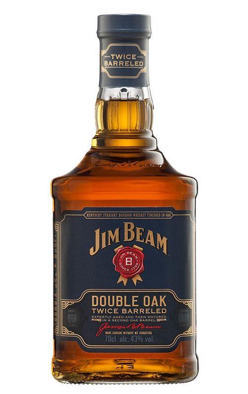 [Prime] 1 Bouteille Bourbon Whiskey Jim Beam Double Oak 70cl