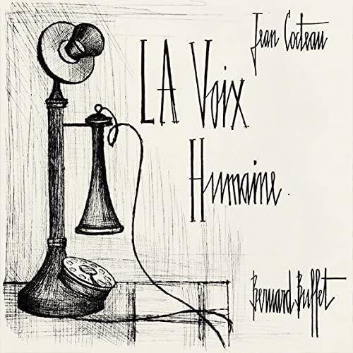 """""""La voix humaine"""" de Jean Cocteau et Bernard Buffet - Édition d'art limitée à 2000 exemplaires"""