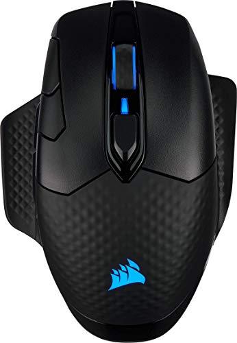 [Prime] Souris sans-fil gaming PC Corsair Dark Core RGB - certifiée charge sans fil Qi, Noire