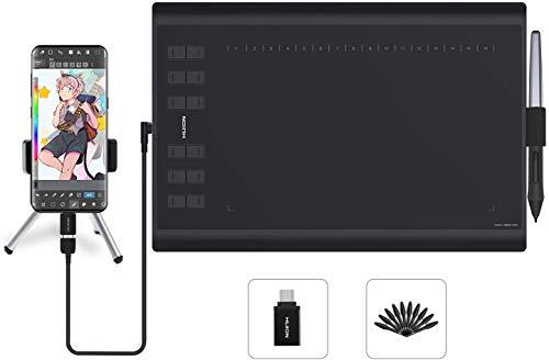 """[Prime] Tablette graphique Huion H1060P - 10x6.25"""", avec stylet (vendeur tiers)"""