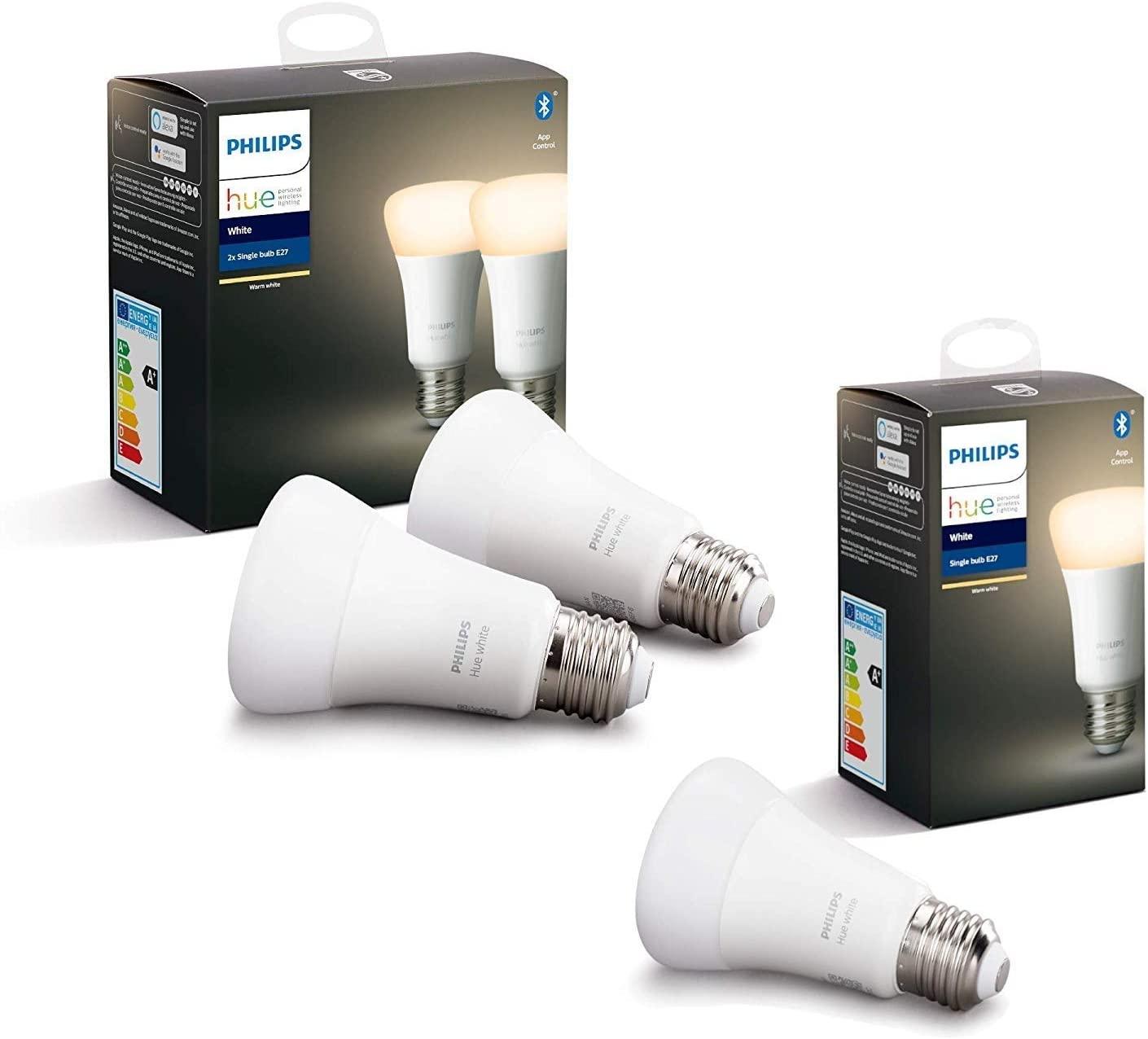 [Prime] Lot de 3 Ampoules Philips Hue LED Connectées White E27