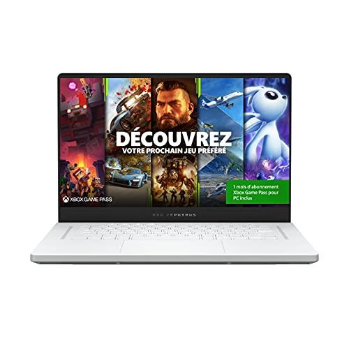 """[Prime] PC Portable 15.6"""" Asus ROG Zephyrus G15 - WQHD 165 Hz, Ryzen 7 5800HS, RTX 3060, 16 Go RAM, 512 Go SSD, Windows 10"""