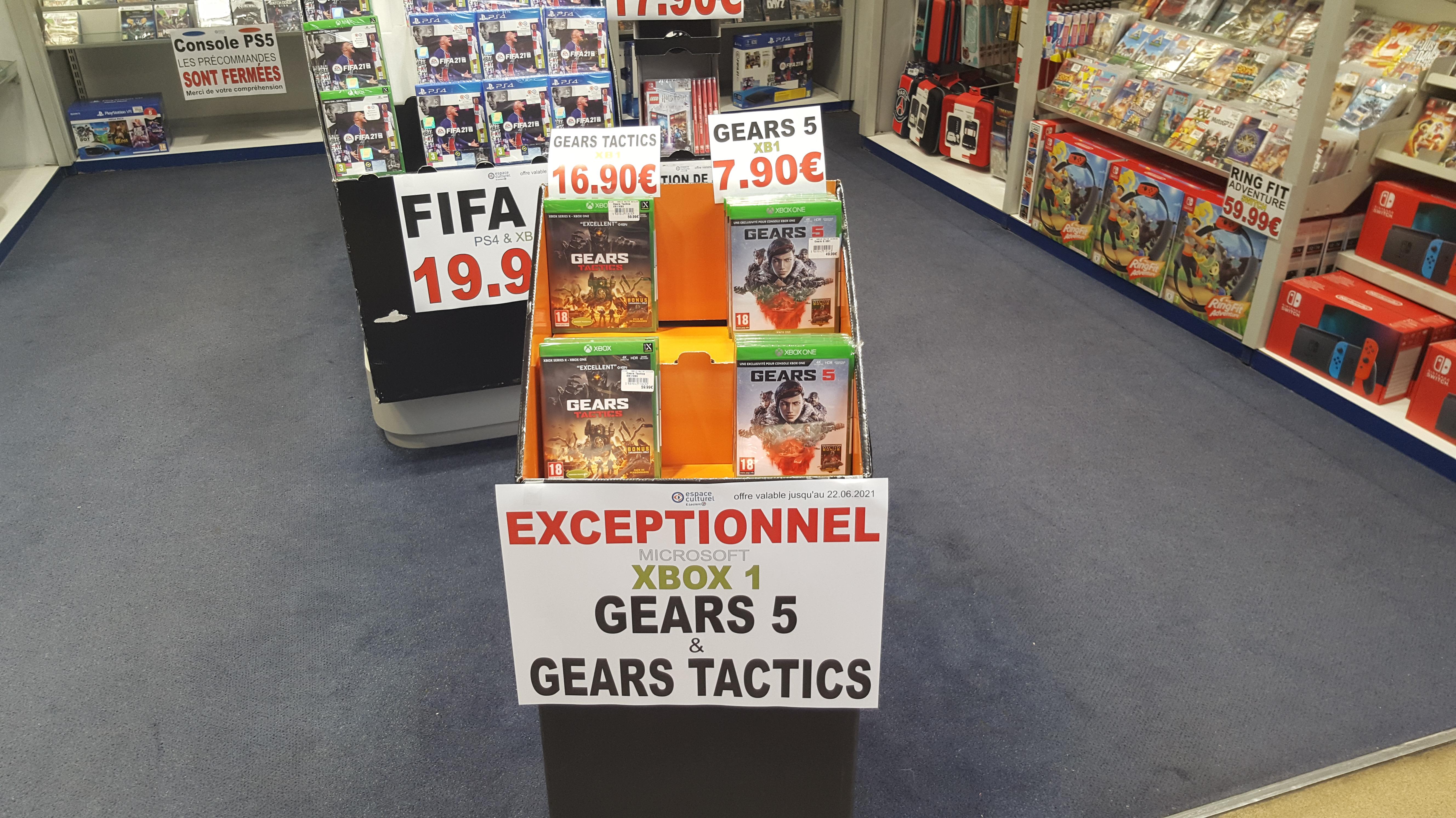 Sélection de jeux en promotion - Ex : Gears 5 sur Xbox One - Maizieres-lès-Metz (57)