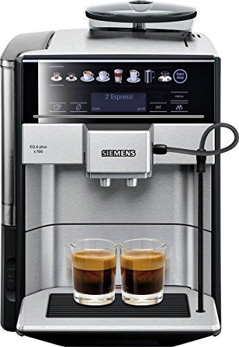 [Prime DE] Machine à expresso automatique avec buse vapeur Siemens EQ.6 Plus s700 - Aroma DoubleShot / iAroma System