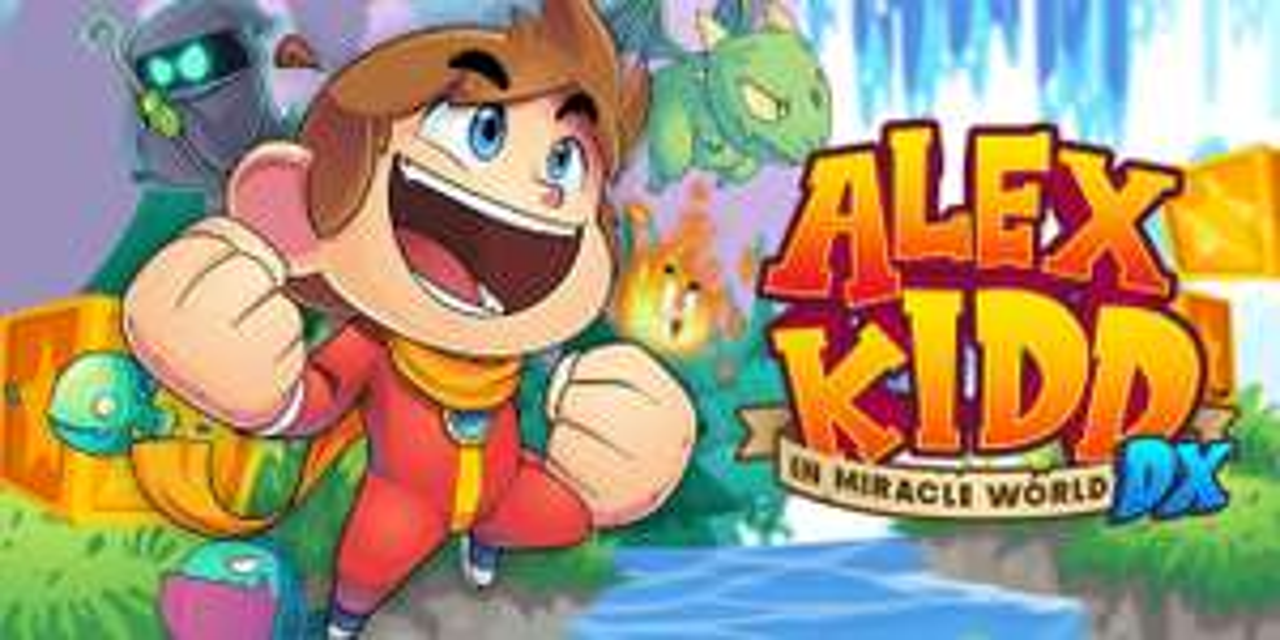 Jeu Alex Kidd in Miracle World DX sur Nintendo Switch (Dématérialisé)