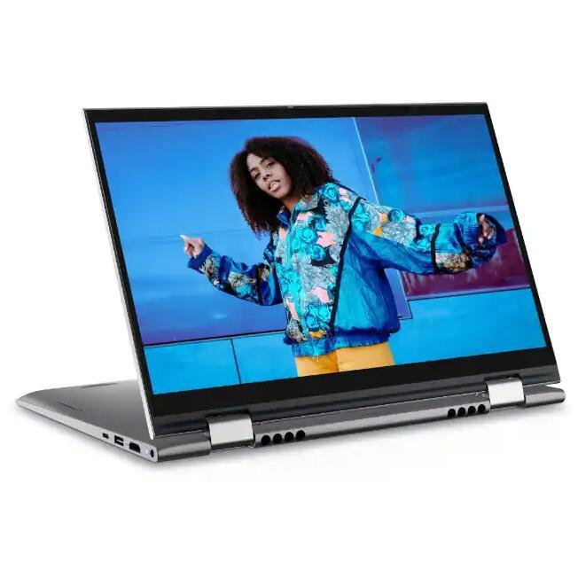 "PC Portable 2-en-1 14"" Dell Inspiron 14 5410 - Full HD Tactile, i7-1165G7, RAM 16 Go 3200 MHz, SSD NVMe 512 Go, WiFi 6, Windows 10"